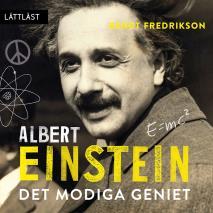 Omslagsbild för Albert Einstein - Det modiga geniet