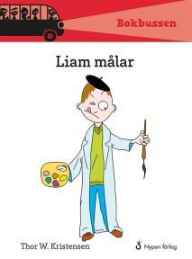 Omslagsbild för Liam målar