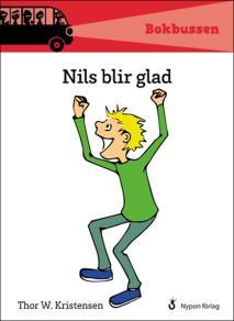 Omslagsbild för Nils blir glad