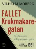 Omslagsbild för Fallet Krukmakaregatan : De försvunna polispapperens gåta