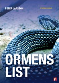 Cover for Ormens list