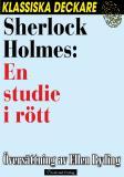 Omslagsbild för Sherlock Holmes: En studie i rött