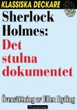 Omslagsbild för Sherlock Holmes: Det stulna dokumentet