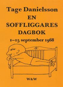 Cover for En soffliggares dagbok 1-15 september 1968 : Kåserier