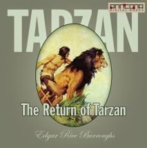 Omslagsbild för The Return of Tarzan