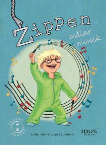 Cover for Zippen målar musik