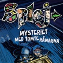 Omslagsbild för Mysteriet med tomterånarna