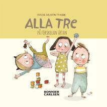 Cover for Alla tre på förskolan Ärtan