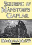 Bokomslag för Skildring av slottsruinen Månstorps Gaflar år 1873 – minibok med historisk text