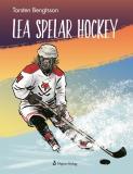 Bokomslag för Lea spelar hockey
