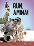 Omslagsbild för Run, Amina!