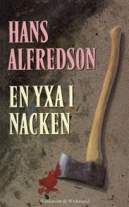 Cover for En yxa i nacken : Kriminalroman