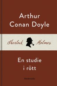Cover for En studie i rött (En Sherlock Holmes-roman)