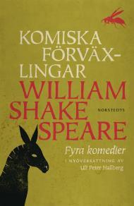Cover for Komiska förväxlingar : Fyra komedier