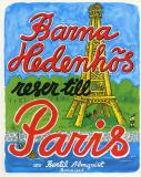Cover for Barna Hedenhös reser till Paris