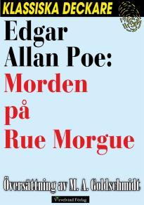 Cover for Morden på Rue Morgue