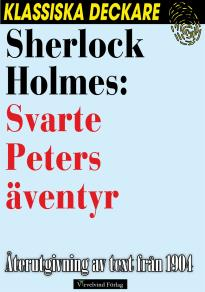Cover for Sherlock Holmes: Svarte Peters äventyr
