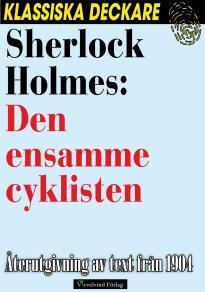 Cover for Sherlock Holmes: Den ensamme cyklisten