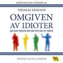 Cover for Omgiven av idioter
