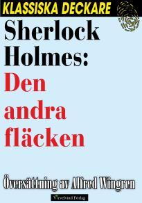 Cover for Sherlock Holmes: Den andra fläcken