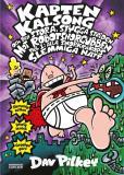 Bokomslag för Kapten Kalsong och den stora, stygga striden mot Robotsnorgubben, del 1: Alla snorkråkors slemmiga natt