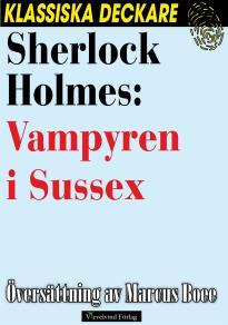 Cover for Sherlock Holmes: Vampyren i Sussex