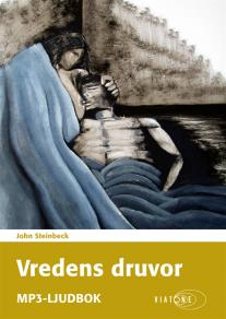 Cover for Vredens druvor