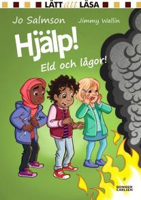 Omslagsbild för Hjälp! Eld och lågor!