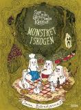 Bokomslag för Sagan om den underbara familjen Kanin och monstret i skogen