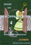 Omslagsbild för Sagan om den öppna porten 4. Den sorgsna lemuren