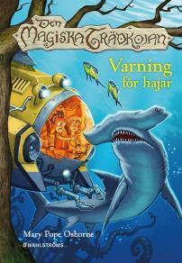 Cover for Den magiska trädkojan 9 - Varning för hajar