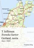 Cover for Svenska kartor: Gotland, norra delen