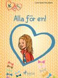Omslagsbild för K för Klara 5 - Alla för en