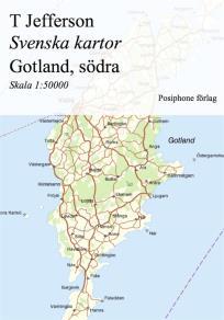 Omslagsbild för Svenska kartor: Gotland, södra delen