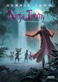 Omslagsbild för Ninja Timmy och den vita apans hemlighet