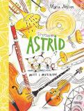 Bokomslag för Spyflugan Astrid mitt i musiken