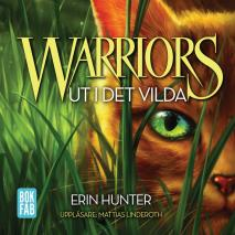 Omslagsbild för Warriors. Ut i det vilda