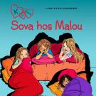 Bokomslag för K för Klara 4 - Sova hos Malou
