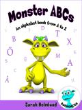 Cover for Monster ABCs - An alphabet book from A to Z