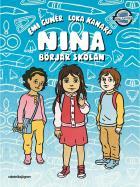 Cover for Nina börjar skolan