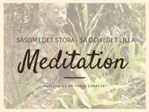 Omslagsbild för Vägledd Meditation av Tomas Enhager