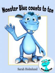 Omslagsbild för Monster Blue counts to ten