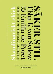 Cover for Säker stil. Skandinaviskt chic