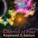 Cover for Asteroid of Fear