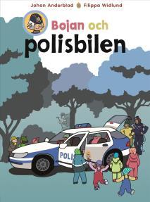 Cover for Bojan och polisbilen