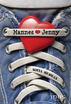 Omslagsbild för Hannes hjärta Jenny