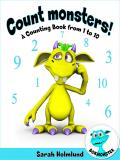 Omslagsbild för Count monsters! A Counting Book from 1 to 10