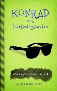 Cover for Konrad och födelsedagstavlan