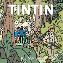 Cover for Tintin hos gerillan
