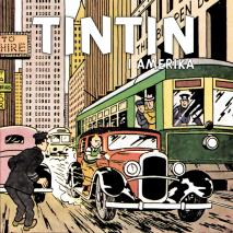 Cover for Tintin i Amerika